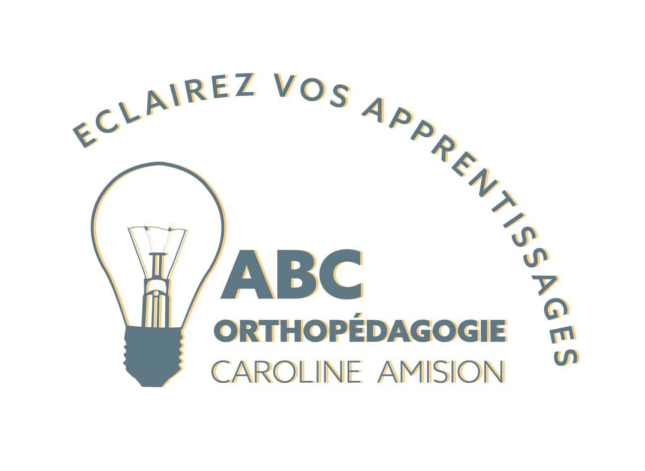 Logo ABC Orthopédagogie Caroline Amision, Lyon