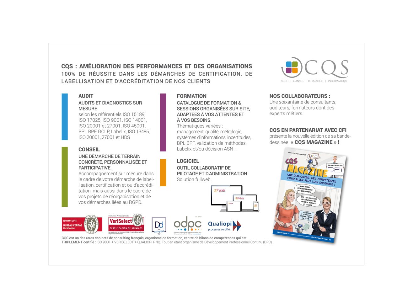 CQS Experts Conseil | Audit | Formations | Informatique, Nice France